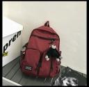 Balo đi học, đi chơi túi hộp chất dù đẹp dành cho nam và nữ 7509